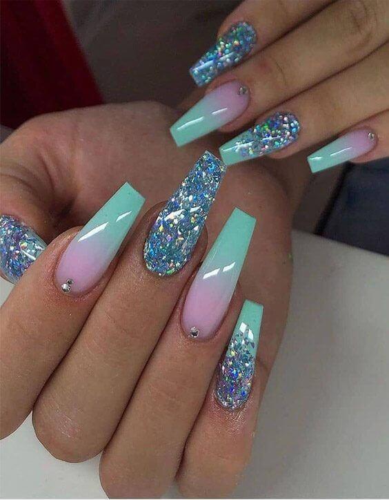 attractive ombre nail designs 2020