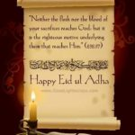 eid ul adha quotes from quran