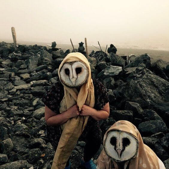 creepy owl masks costume ideas for halloween