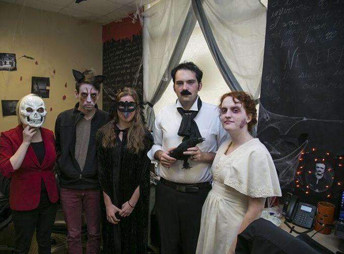 diy scary group halloween costume ideas