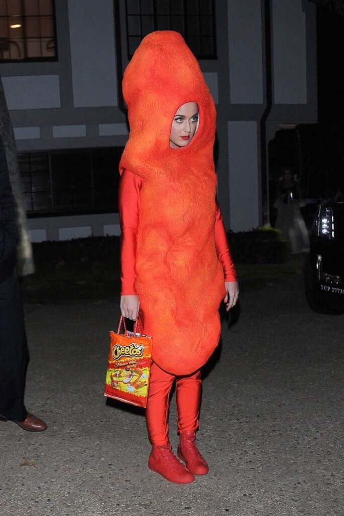 Katy Perry cheetos funny costume idea for halloween