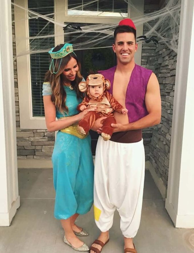 aladdin family halloween costumes ideas