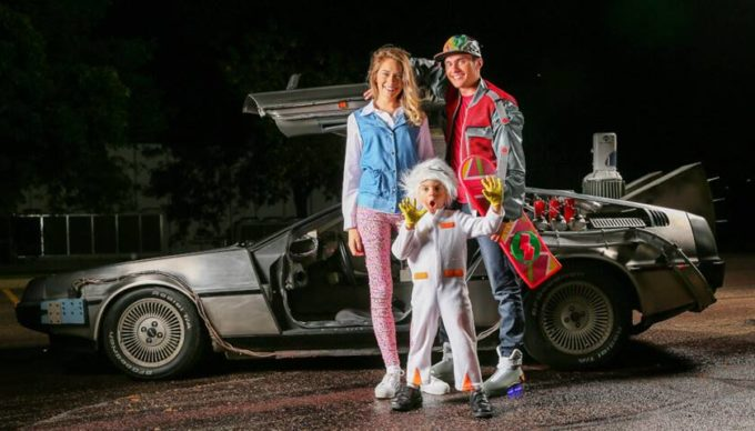 back to the future family halloween costumes ideas