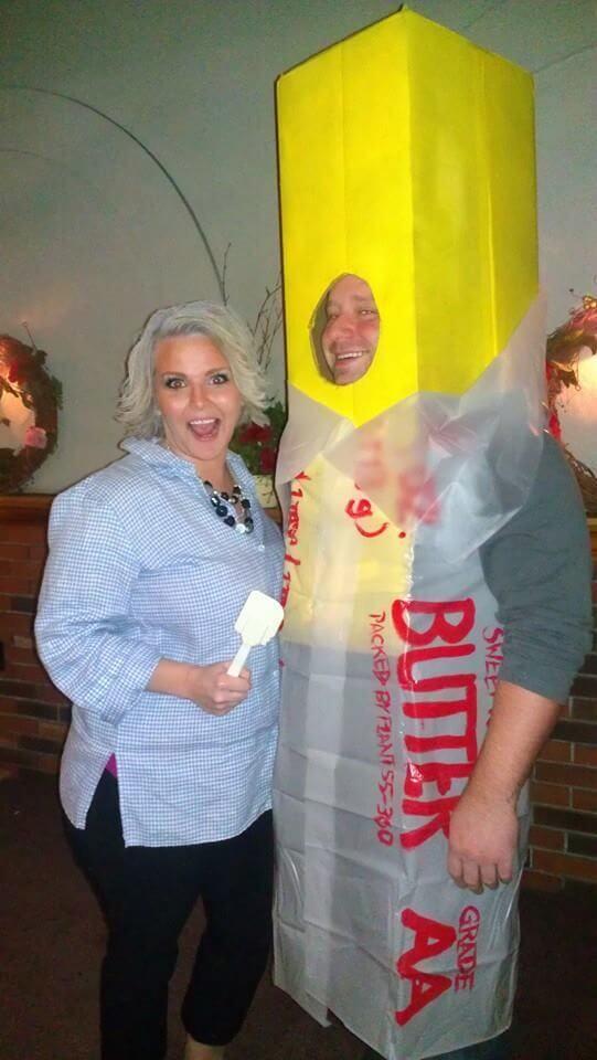 butter costume idea for halloween