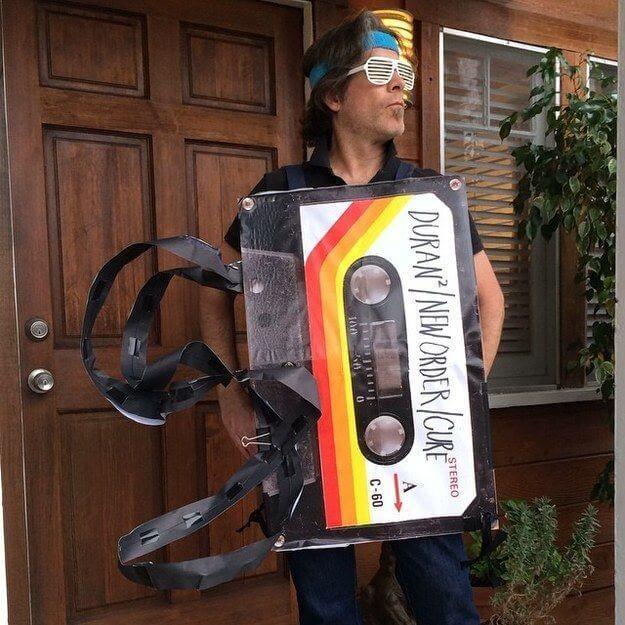 cassette costume idea for halloween