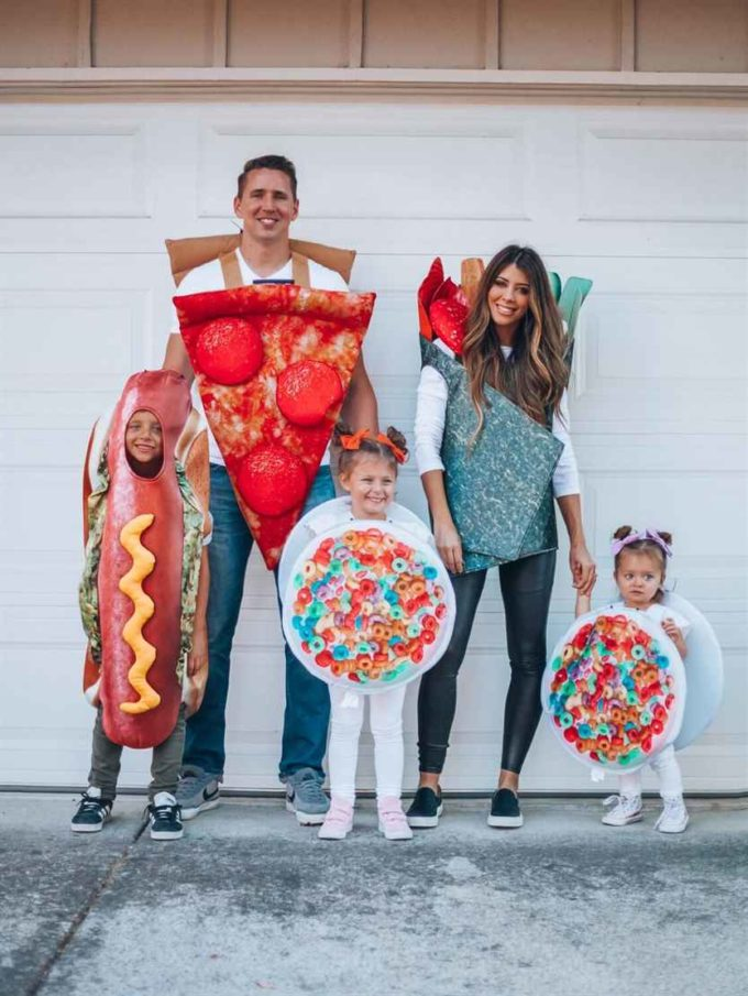 food family halloween costumes ideas