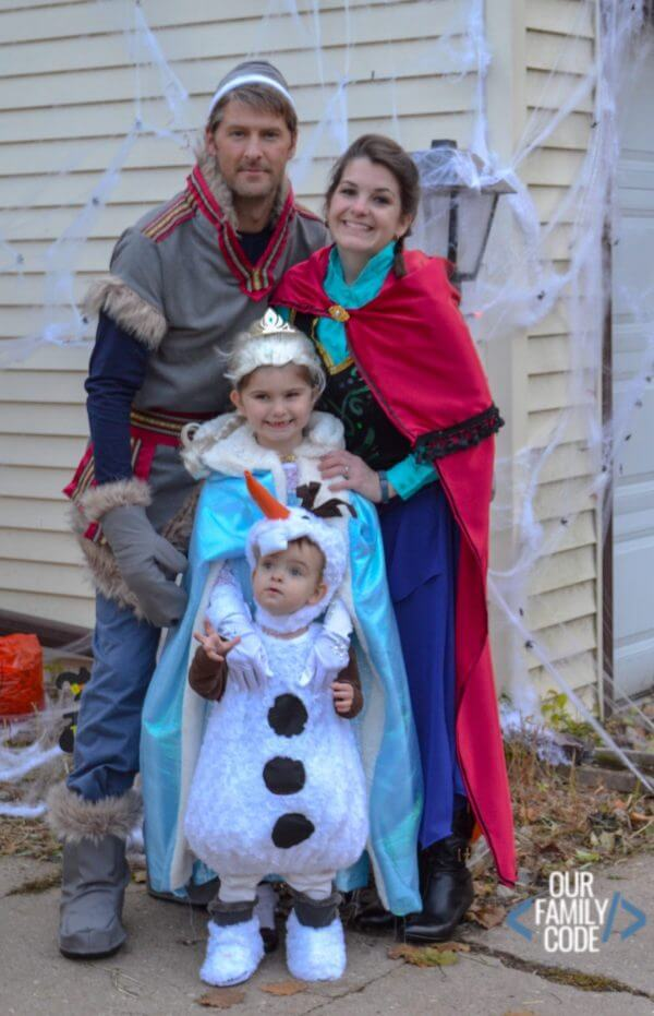 frozen family halloween costumes ideas