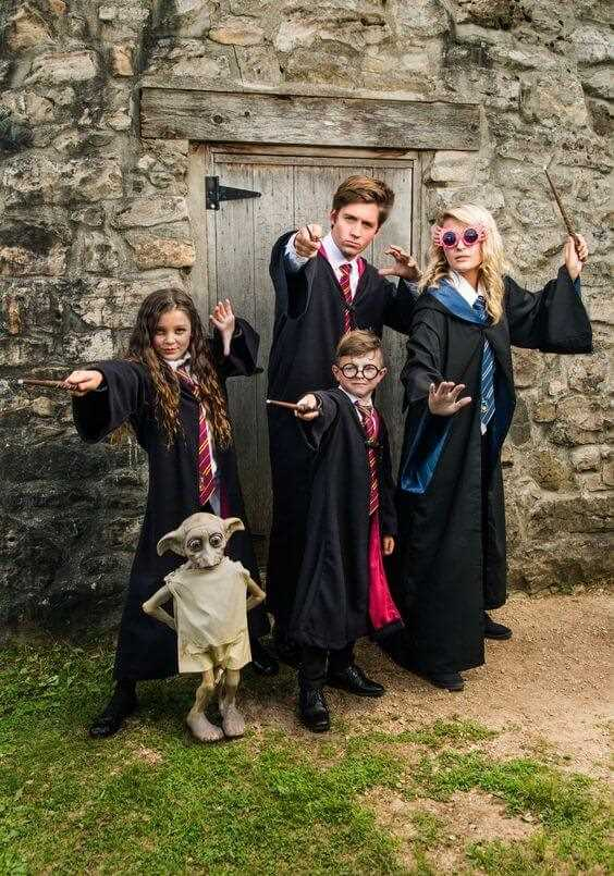 harry potter family halloween costumes ideas