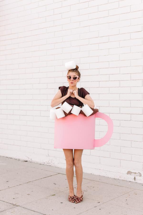 hot chocolate costume idea for halloween