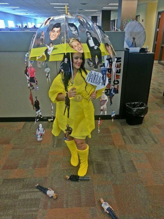 its raining men costume idea for halloween