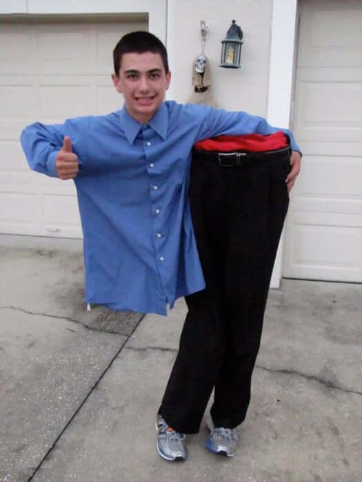 magic trick man cut in half costume idea for halloween
