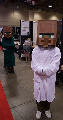 minecraft costume ideas for halloween