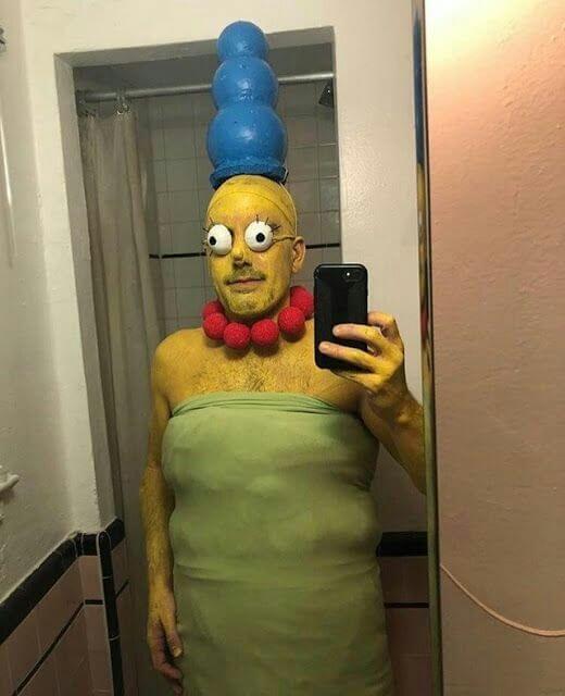simpson halloween costume idea for men