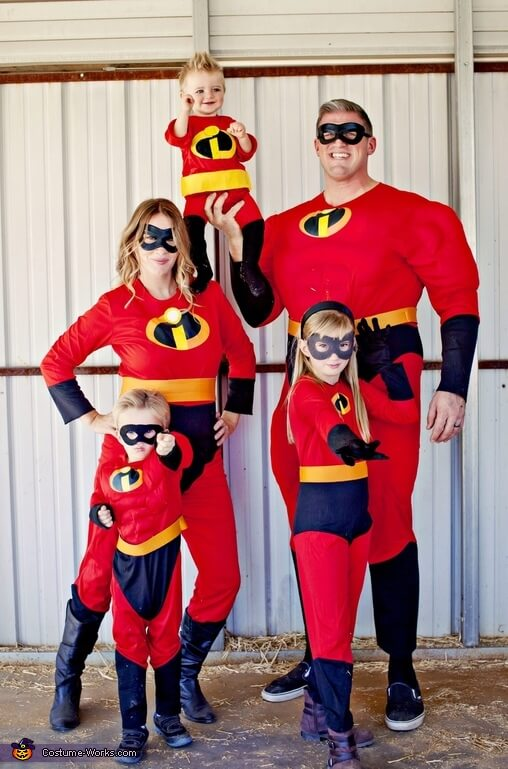 the incredibles family halloween costumes ideas