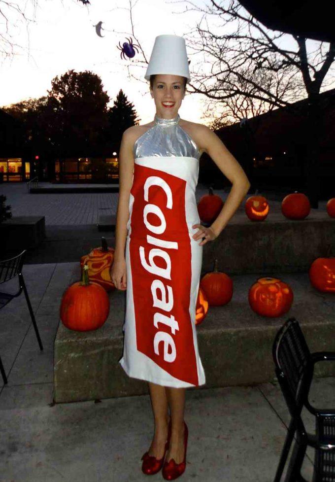 toothpaste costume idea for halloween